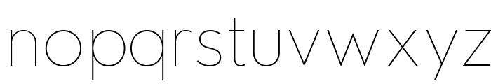 Edelsans-UltraLight Font LOWERCASE
