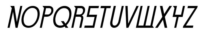 Eden Mills Italic Font UPPERCASE