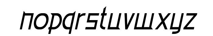 Eden Mills Italic Font LOWERCASE