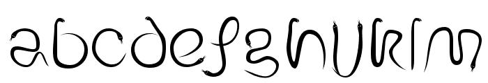EdenDisplay Font LOWERCASE