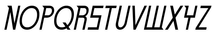 EdenMills-Italic Font UPPERCASE