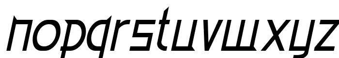 EdenMills-Italic Font LOWERCASE