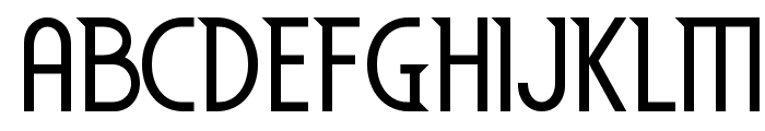 EdenMills-Regular Font UPPERCASE