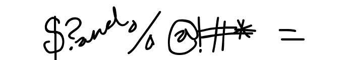 Edgar da cool Font OTHER CHARS