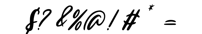 Edinburg Regular Font OTHER CHARS