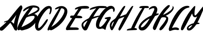 Edinburg Regular Font UPPERCASE