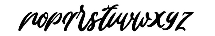Edinburg Regular Font LOWERCASE