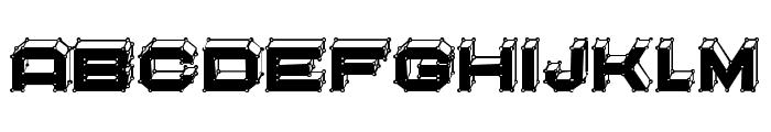 Edit Points Filled Regular Font LOWERCASE