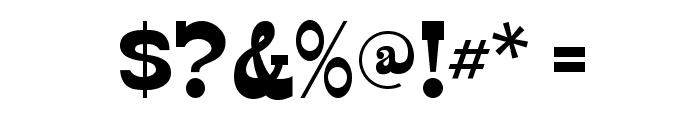 Edmunds-Regular Font OTHER CHARS