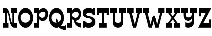 Edmunds-Regular Font UPPERCASE