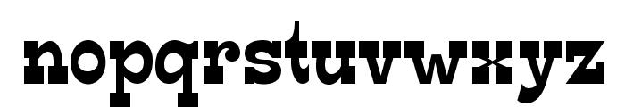Edmunds-Regular Font LOWERCASE