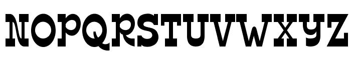 Edmunds Font UPPERCASE
