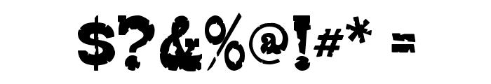 EdmundsDistressed-Regular Font OTHER CHARS