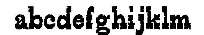 EdmundsDistressed-Regular Font LOWERCASE
