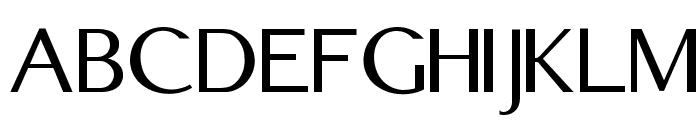 Edmundsbury Sans Regular Font UPPERCASE