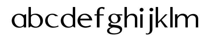 Edmundsbury Sans Regular Font LOWERCASE