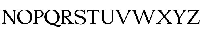 Edmundsbury Serif Regular Font UPPERCASE
