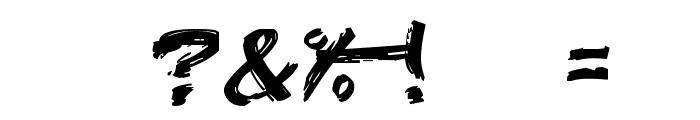 Edo SZ Font OTHER CHARS