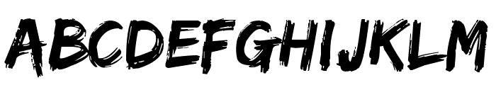 Edo Font LOWERCASE