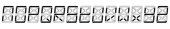 eDisplay Demo Font LOWERCASE