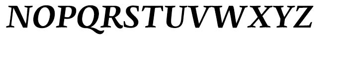 Edita Bold Italic Font UPPERCASE