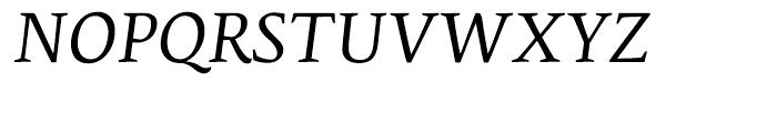 Edita Italic Font UPPERCASE