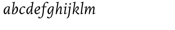 Edita Italic Font LOWERCASE