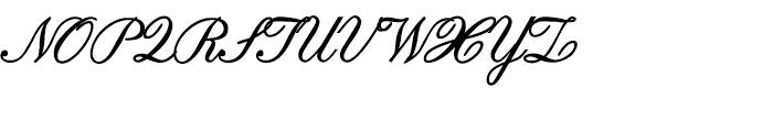 Edward Edwin Bold Font UPPERCASE