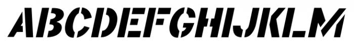 Educator JNL Oblique Font UPPERCASE