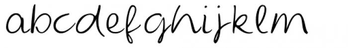 Edda Script Font LOWERCASE