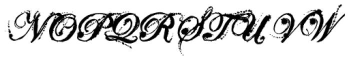 Eddy Splats Font UPPERCASE