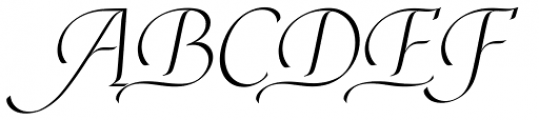 Edelweiss Regular Font UPPERCASE