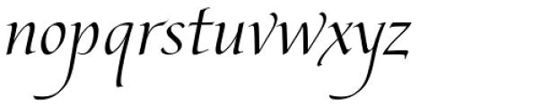 Edelweiss Regular Font LOWERCASE