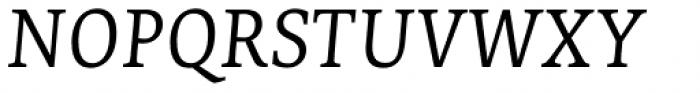 Edit Serif Cy Extra Light Italic Font UPPERCASE