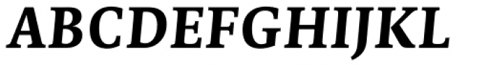Edit Serif Cyrillic Bold Italic Font UPPERCASE