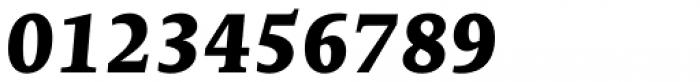 Edit Serif Cyrillic Extra Bold Italic Font OTHER CHARS