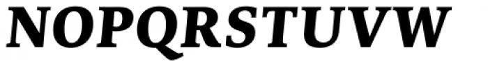 Edit Serif Cyrillic Extra Bold Italic Font UPPERCASE