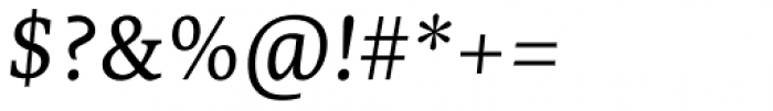 Edit Serif Cyrillic Light Italic Font OTHER CHARS