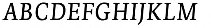Edit Serif Cyrillic Light Italic Font UPPERCASE