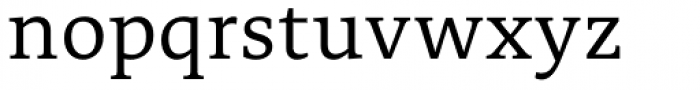 Edit Serif Cyrillic Light Font LOWERCASE