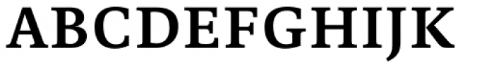 Edit Serif Cyrillic Semi Bold Font UPPERCASE