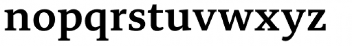 Edit Serif Cyrillic Semi Bold Font LOWERCASE