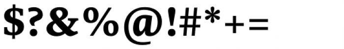 Edit Serif Pro Bold Font OTHER CHARS