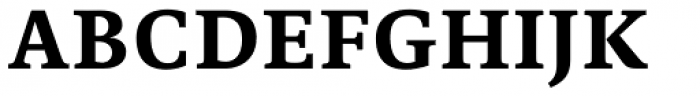 Edit Serif Pro Bold Font UPPERCASE