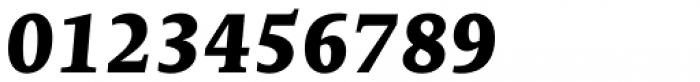 Edit Serif Pro Extra Bold Italic Font OTHER CHARS
