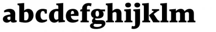 Edit Serif Pro Extra Bold Font LOWERCASE