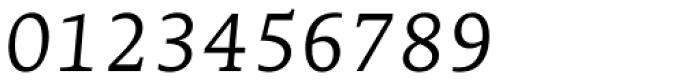 Edit Serif Pro Extra Light Italic Font OTHER CHARS