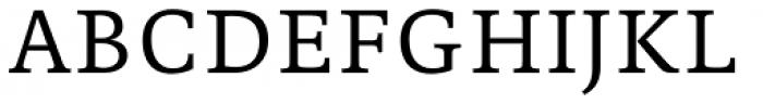 Edit Serif Pro Light Font UPPERCASE