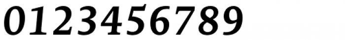 Edit Serif Pro Semi Bold Italic Font OTHER CHARS