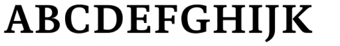 Edit Serif Pro Semi Bold Font UPPERCASE